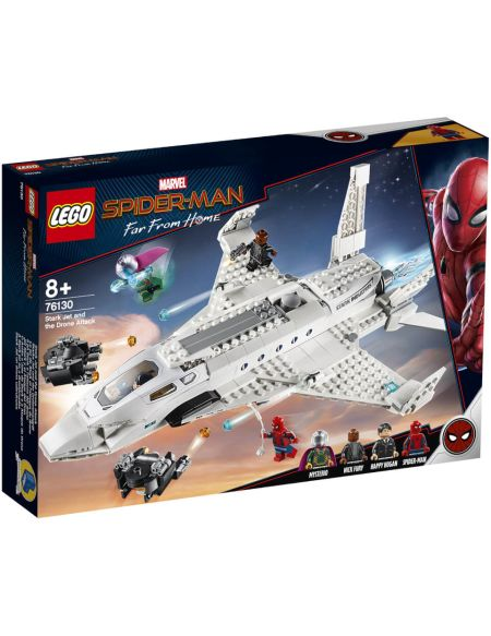 LEGO Super Heroes: Stark Jet and the Drone Attack (76130)