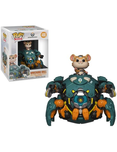 Figurine Pop! Wrecking 15cm - Overwatch