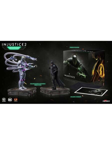 TriForce DC Comics Injustice 2: The Versus Collection – Statuettes en PVC 23-28 cm (jeu NON inclus)