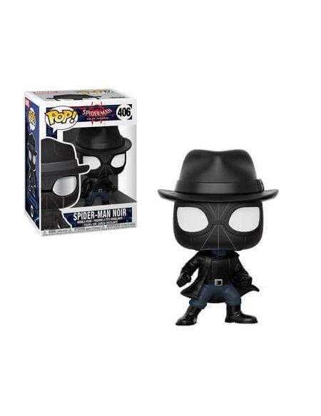 Figurine Pop! Spider Man Noir avec chapeau - Marvel Spider-Man Animé