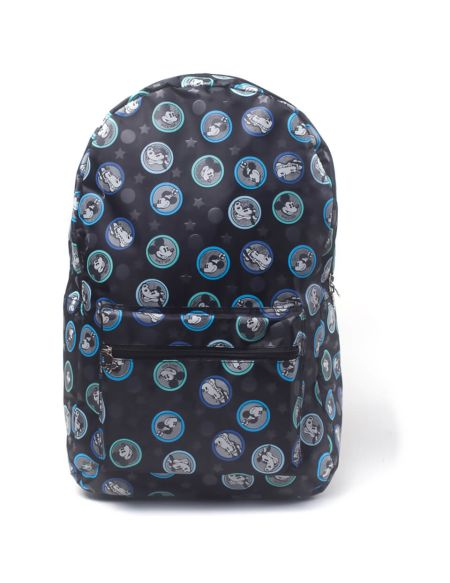 Disney Mickey Mouse AOP Backpack - Black