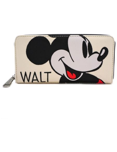 Portefeuille Mickey Mouse Disney à fermeture - Loungefly