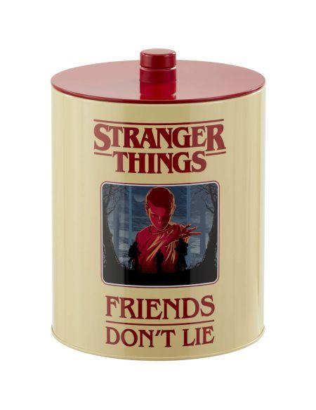 Stranger Things (Affiche Rétro) Boîte à Biscuits