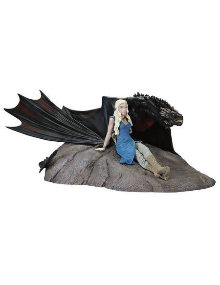 Game of Thrones – Statuette Dark Horse Daenerys & Drogon