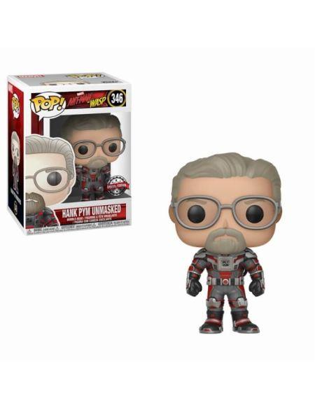 Figurine Pop! Hank Pym sans masque - Ant-Man & La Guêpe EXC
