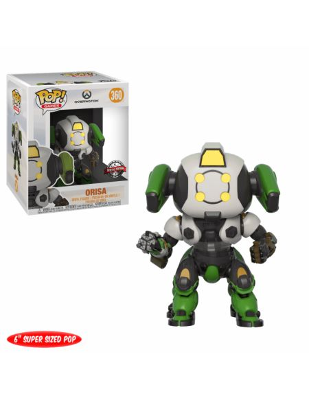 Figurine Pop! Overwatch Orisa 6 Inch EXC