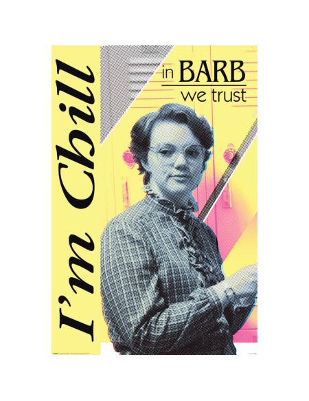 Stranger Things (In Barb We Trust) Poster