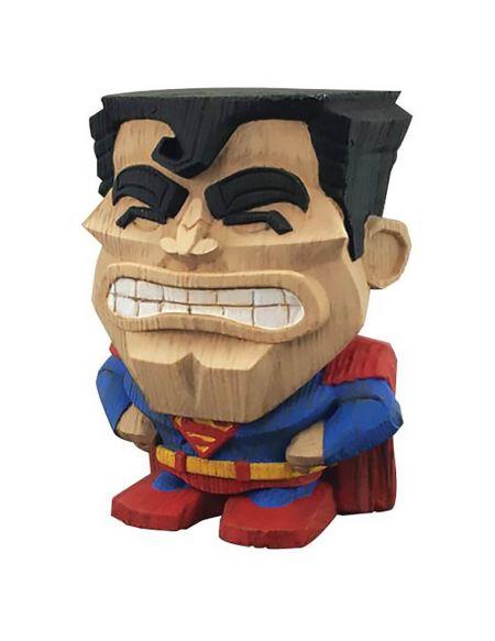 Figurine Cryptozoic en vinyle – DC Comics Teekez Series1 – Superman 8cm
