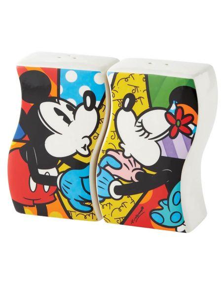 Disney Britto Mickey and Minne S&P Shaker 9.0cm