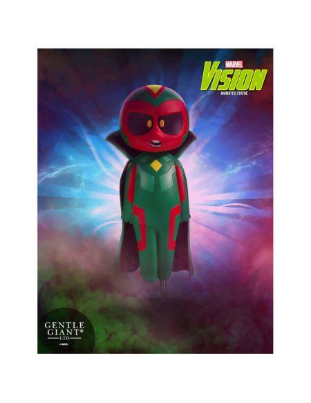 Gentle Giant Marvel Avengers Vision Animated Statue - 15cm