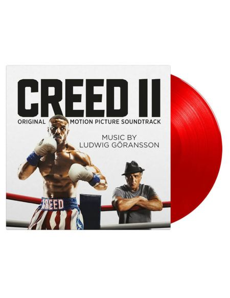 Ludwig Goransson - Creed II [LP] (LIMITED RED 180 Gram Audiophile Vinyl, PVC sleeve, mini-poster, sticker sleeve, numbered to 500)