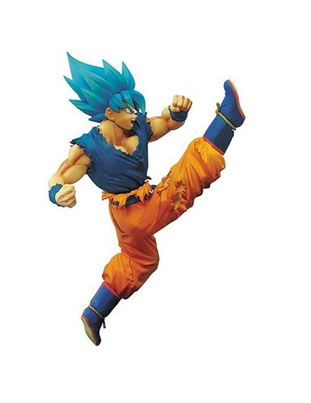 Banpresto Dragon Ball Super SS God Super Saiyan Goku Z-Battle Statue