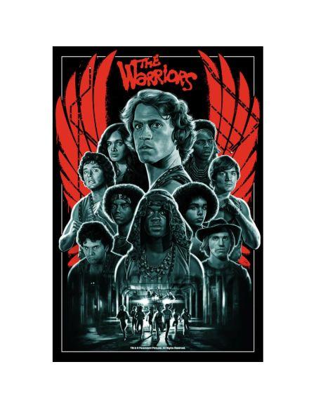 40ème Anniversaire du film les Guerriers de la nuit - Sérigraphie