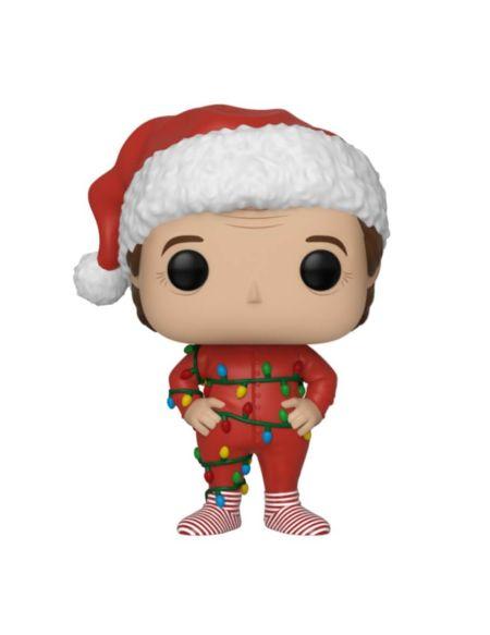 Figurine Pop! Père Noël Avec Guirlandes - Super Noël