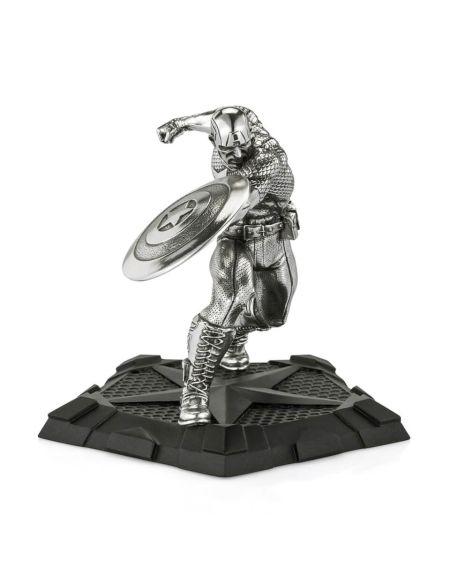 Royal Selangor Marvel Captain America First Avenger Figurine 11.5cm