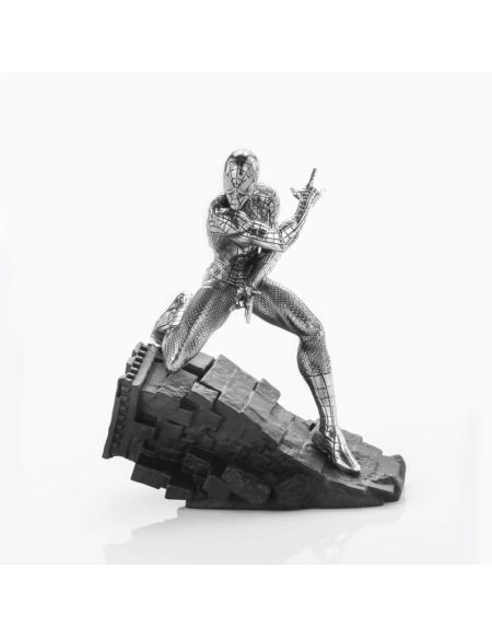 Royal Selangor Marvel Spider-Man 'Webslinger' Pewter Figurine 12cm