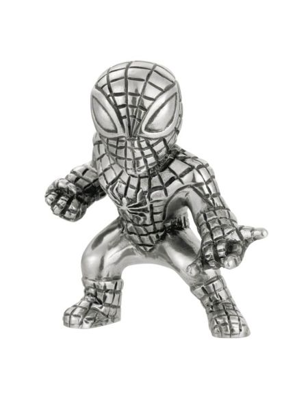 Royal Selangor Marvel Spider-Man Pewter Miniature Figurine 5cm