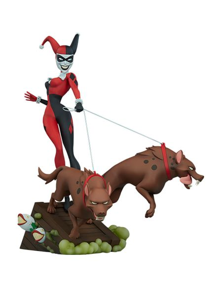 Sideshow Collectibles Harley Quinn Animated Series Collection Statue