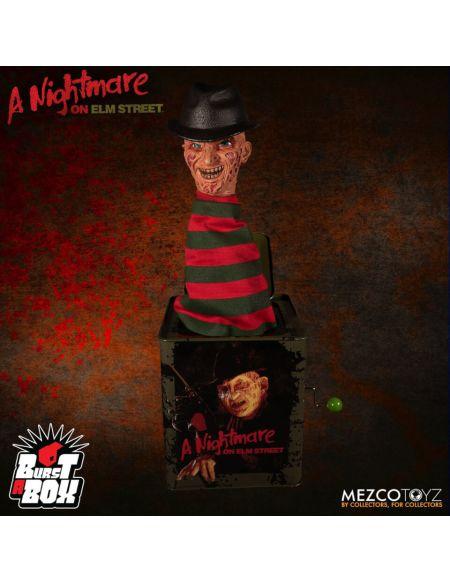 Mezco A Nightmare On Elm Street: Freddy Krueger Burst A Box