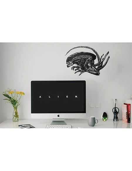 Alien Wall Decals