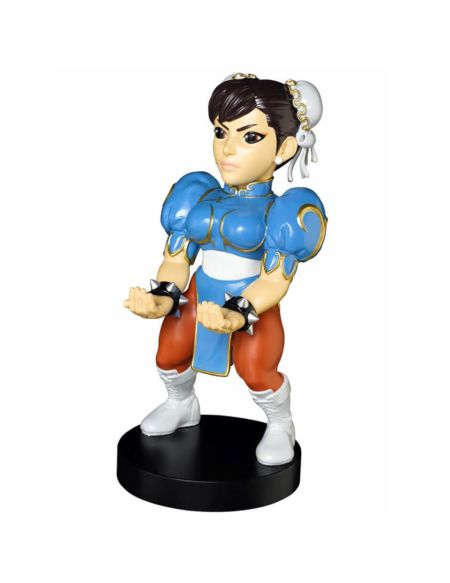 Figurine Support Chargeur Manette et Smartphone 20 cm Street Fighter Chun Li