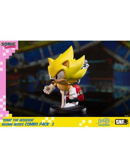 Sonic the Hedgehog BOOM8 Series PVC Figure Vol. 06 Super Sonic (8cm)