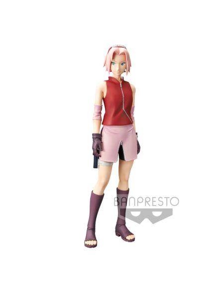 Naruto Shippuden Figurine Sakura Haruno Grandista 23 cm - Banpresto