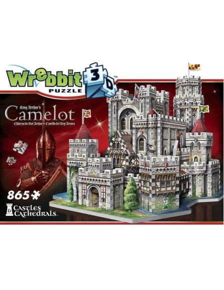 Wrebbit Camelot Castle 3D Puzzle (865 Pieces)