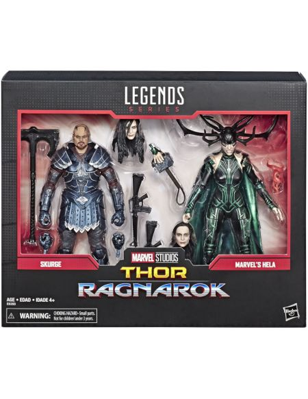Marvel Legends Series Skurge et Marvel's Hela