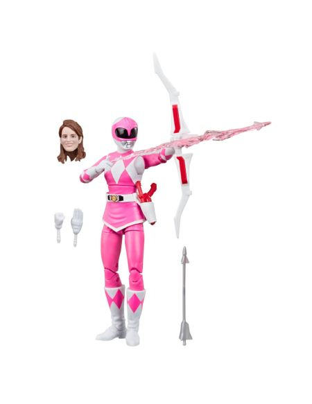 Power Rangers Lightning Collection Mighty Morphin Figurine Ranger rose