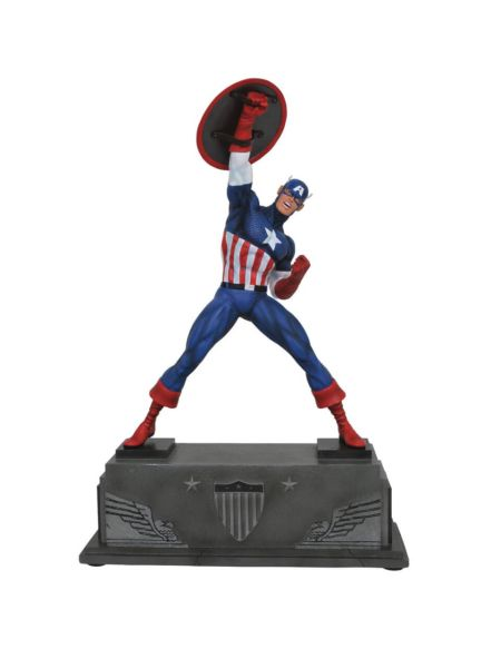 Diamond Select Marvel Premier Captain America Statue