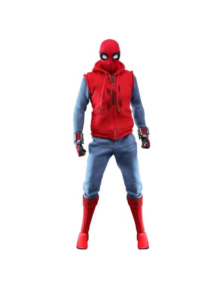 Hot Toys Spider-Man: Far From Home Movie Masterpiece Action Figure 1/6 Spider-Man (Homemade Suit) 29cm