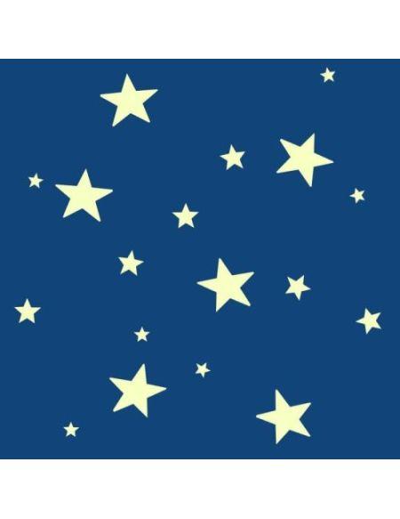 Étoiles lumineuses stickers