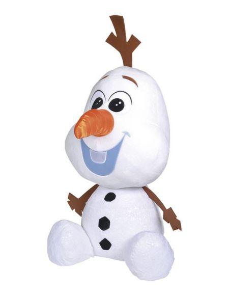 Peluche XL Disney La Reine des Neiges 2 Olaf 100 cm