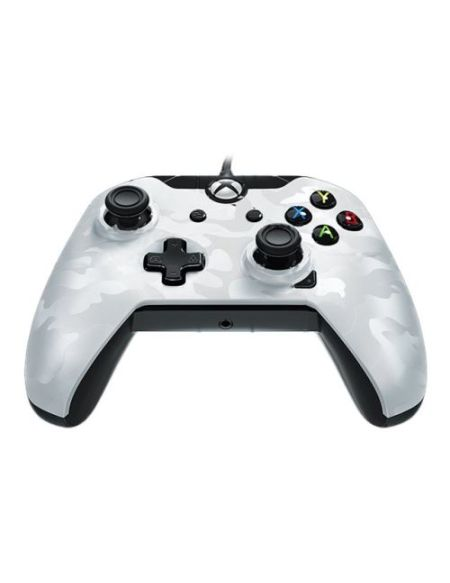 Manette Xbox One Pdp Deluxe Wired Controller Blanc Camo