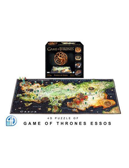 Puzzle 4D Cityscape Game Of Thrones Essos Noir