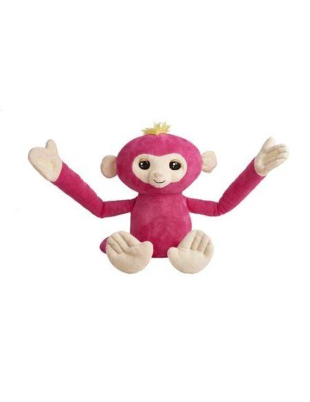 Peluche interactive Evolution Fingerlings Hugs Rose
