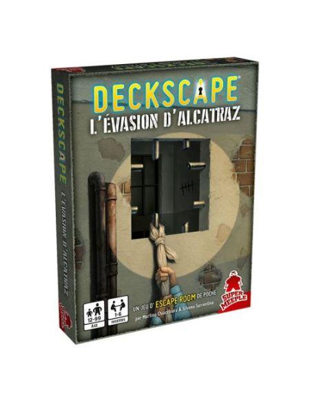 Jeu de société Super Meeple Deckscape L'Évasion d'Alcatraz