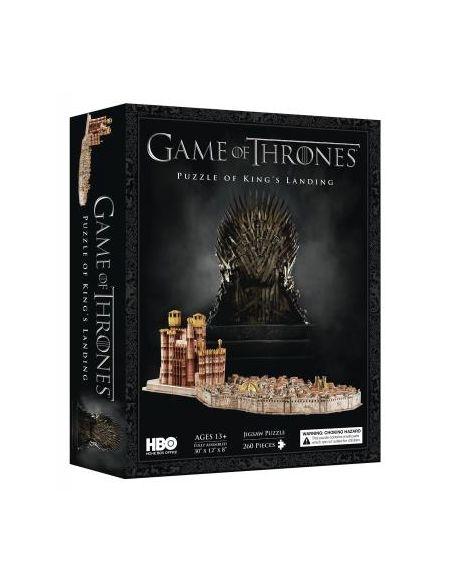 Puzzle de 260 pièces 4D Cityscape King's Landing