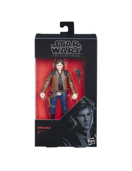 Figurine Star Wars The Black Séries Han Solo