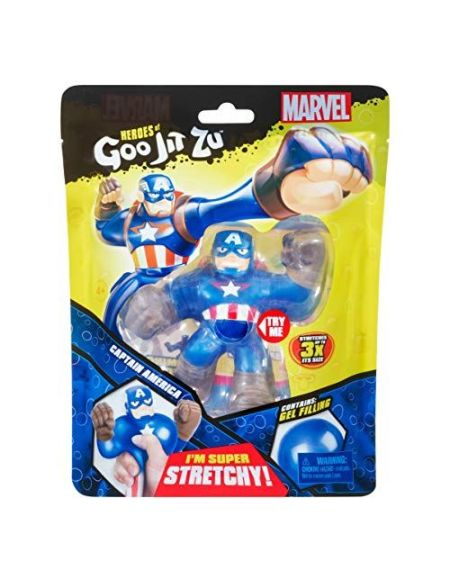 Figurine Goo Jit Zu Marvel Captain America 11 cm
