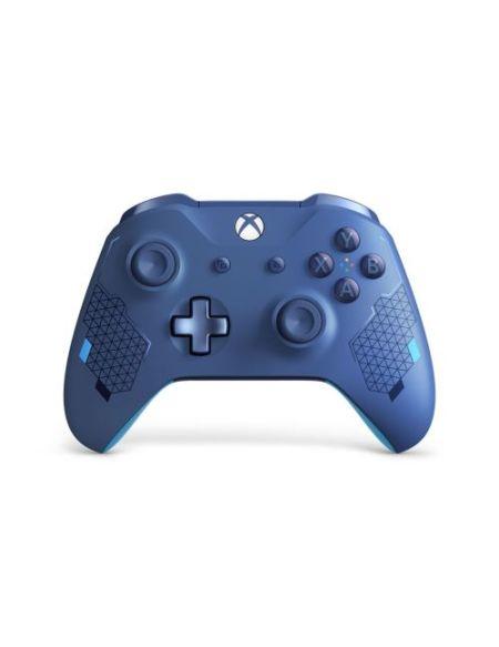 Manette Xbox One Microsoft Sans Fil Edition Spéciale Sport Bleue