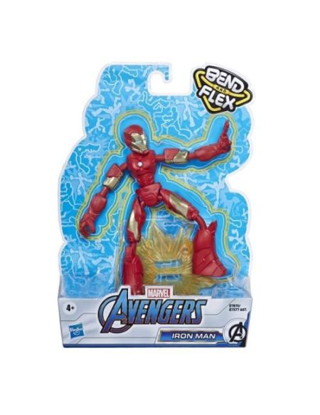 Figurine Avengers Iron Man Bend and Flex 15 cm