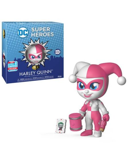 Figurine Funko 5 Star DC Harley Quinn Rose Exclusivité Fnac