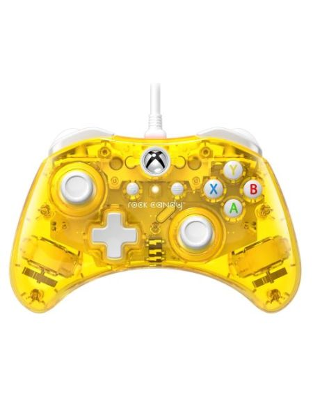 Manette Xbox One filaire PDP Rock Candy Mini Jaune