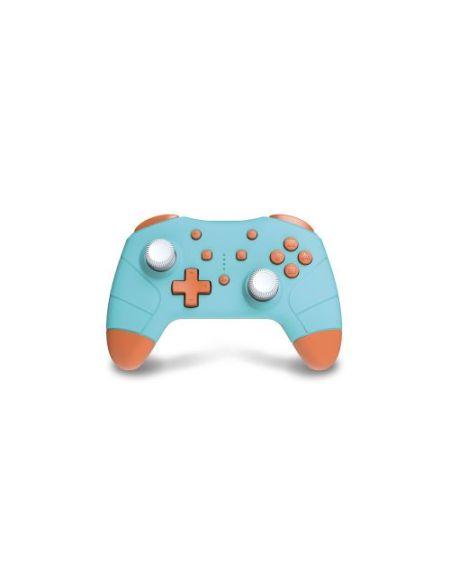 Manette sans fil Under Control pour Nintendo Switch Bleu et orange