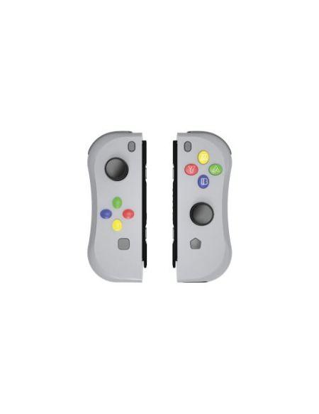 Paire de manettes Under Control IICon sans fil pour Nintendo Switch Gris
