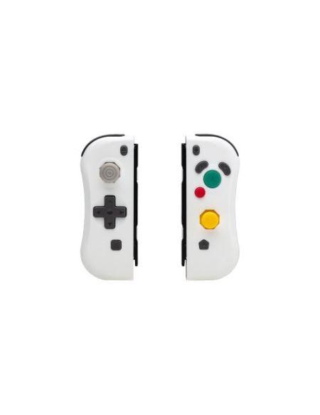 Paire de manettes Under Control IICon sans fil pour Nintendo Switch Blanc