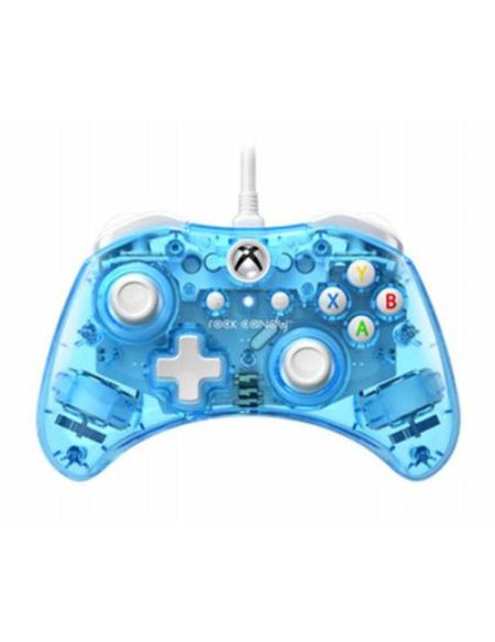 Manette Nintendo Switch filaire PDP Rock Candy Mini Bleu