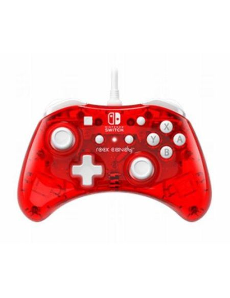 Manette Nintendo Switch filaire PDP Rock Candy Mini Rouge